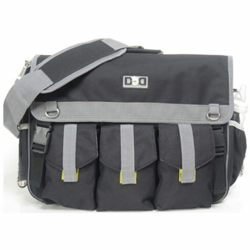 Diaper Dude Deluxe Diaper Bag in Black