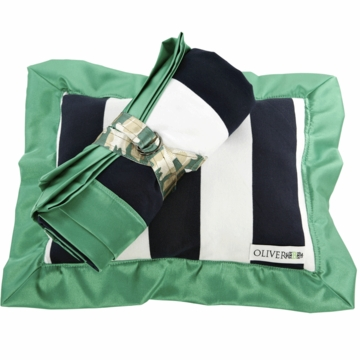 Oliver B Stroller Pillow & Blanket Set