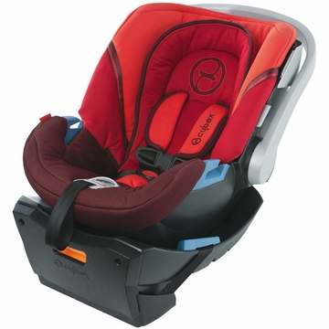 Cybex Aton Plus Infant Car Seat - Lipstick