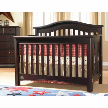 Bonavita Lifestyle Hudson 2 Piece Nursery Set in Lifestyle Cherry - Crib & 5 Drawer Dresser