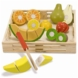 Melissa & Doug Cutting Fruit Crate