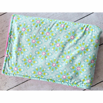 Caden Lane Purple Garden Crib Blanket (Limited Edition)
