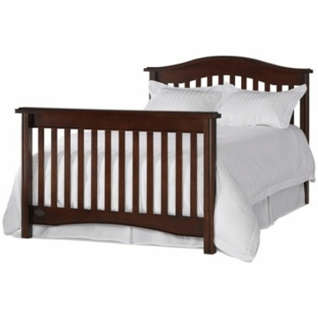 Bonavita Hudson Universal Full Size Rail in Chocolate