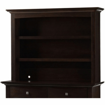 Bonavita Metro Hutch Dresser in Chocolate