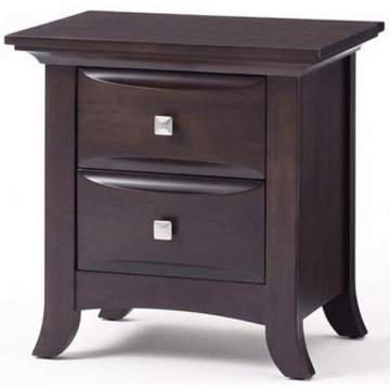 Bonavita Metro Nightstand Dresser in Chocolate