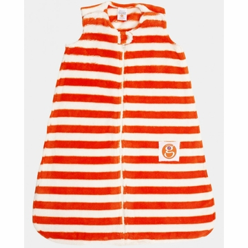 Gunamuna Gunapod Striped Sleep Sack - Modern Orange - Medium