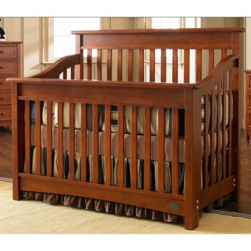 Bonavita Peyton Lifestyle Crib in Chestnut