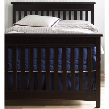 Bonavita Peyton Full Size Bed Rail in Espresso