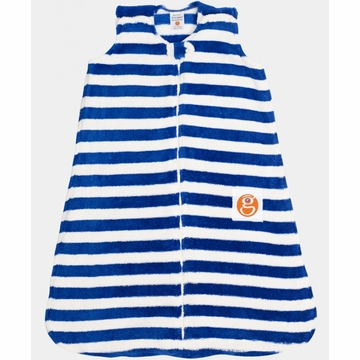 Gunamuna Gunapod Striped Sleep Sack - Monaco Blue - Medium