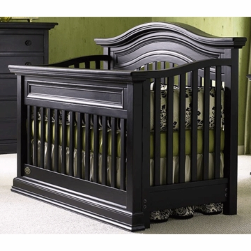 Bonavita Sheffield Lifestyle Crib in Distressed Black
