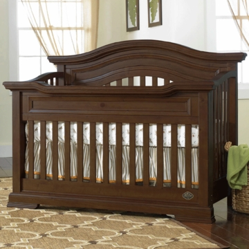 Bonavita Belmont Lifestyle Crib in Dark Walnut