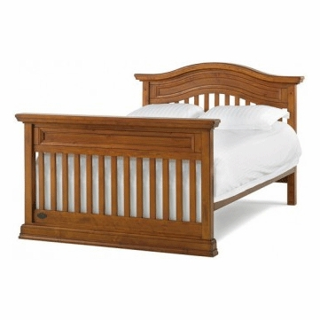 Bonavita Belmont Full Size Bed Rail in Distressed Country Wheat