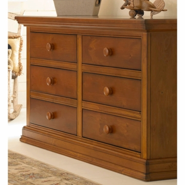 Bonavita Belmont Double Dresser in Distressed Country Wheat
