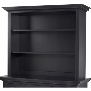 Bonavita Belmont Hutch in Distressed Black