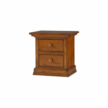 Bonavita Belmont Nightstand in Distressed Country Wheat
