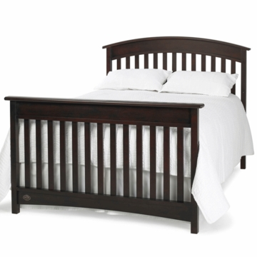 Bonavita Casey Full Size Bed Rail in Espresso