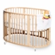 Stokke Sleepi Crib in Natural with FREE Colgate Foam Mattress