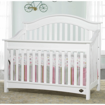 Bonavita Easton Lifestyle Crib in Classic White