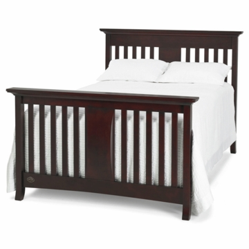 Bonavita Harper Full Size Bed Rail in Classic Cherry