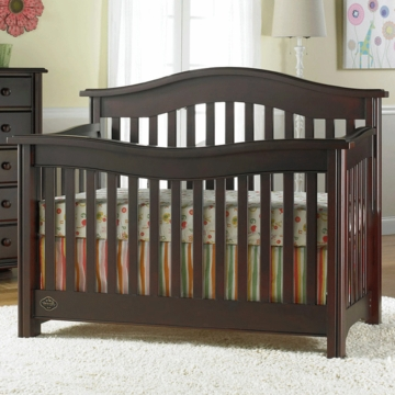 Bonavita Kinsley Lifestyle Crib in Classic Cherry