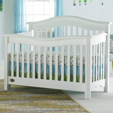 Bonavita Kinsley Lifestyle Crib in Classic White