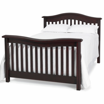 Bonavita Kinsley Full Size Bed Rail in Classic Cherry
