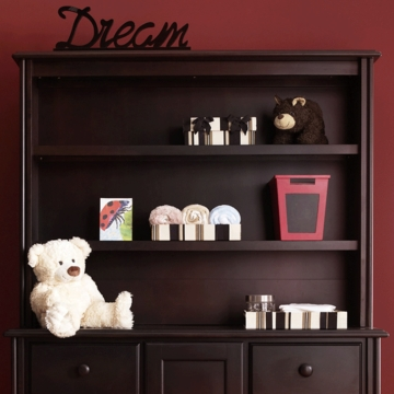 Bonavita Kinsley Hutch in Classic Cherry
