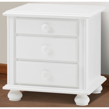 Bonavita Kinsley Nightstand in Classic White