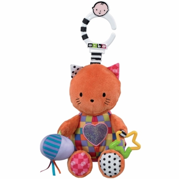 "Kids Preferred 9"" Developmental Sound Kitty"