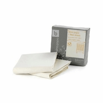 Bloom Alma Papa Fitted Sheets in Natural Wheat (2 Pack)