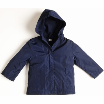 EGG Boy Barn Coat in Navy - 3 to 6 Months