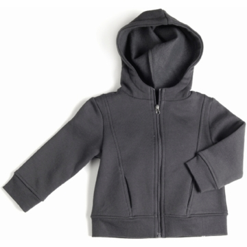 EGG Fleece Hoodie in Flint - 3 to 6 Months