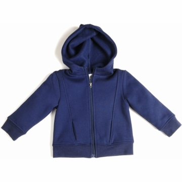 EGG Fleece Hoodie in Navy- 6 to 12 Months