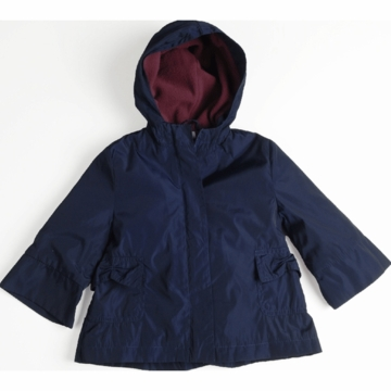 EGG Girl Raincoat in Navy - 6 to 12 Months