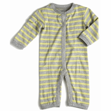 EGG Jersey Boy Romper in Yellow - 0 to 3 Months