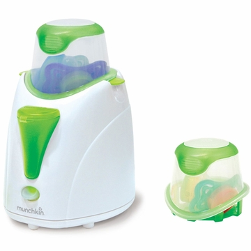 Munchkin High Speed Bottle and Food Warmer with Pacifier Cleaning Basket
