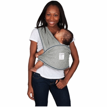 Baby K'Tan Baby Carrier in Heather Grey - Xtra Large