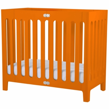 Bloom Alma Urban Cot/Crib in Harvest Orange
