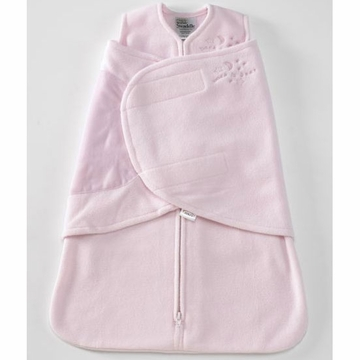 Halo Micro-Fleece SleepSack Swaddle - Soft Pink - Small