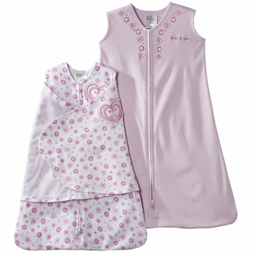 Halo SleepSack 2PC Cotton Gift Set, Print, Small