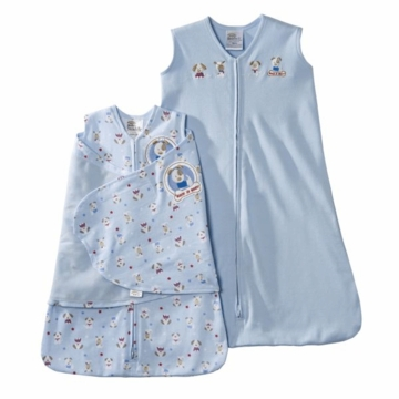 Halo SleepSack 2PC Cotton Gift Set, Silly Pups Print, Small
