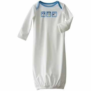 Halo SleepSack Base Layer Silky White Pup Pals - Newborn