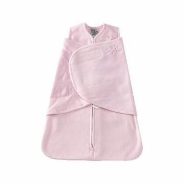 Halo Micro-Fleece SleepSack Swaddle in Soft Pink - Preemie