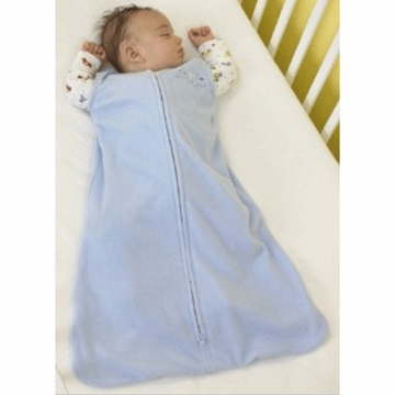 Halo Micro-Fleece SleepSack Wearable Blanket in Baby Blue - Extra Large