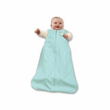 Halo Micro-Fleece SleepSack Wearable Blanket in Mint Green - Preemie
