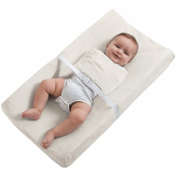 Halo SwaddleChange Changing Pad Cover in Cream