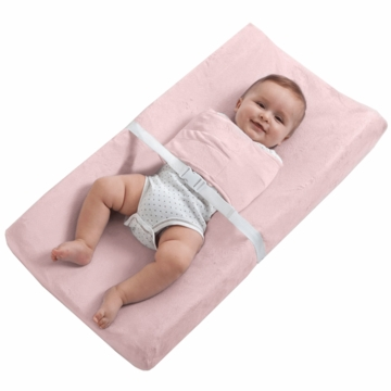 Halo SwaddleChange Changing Pad Cover in Pink