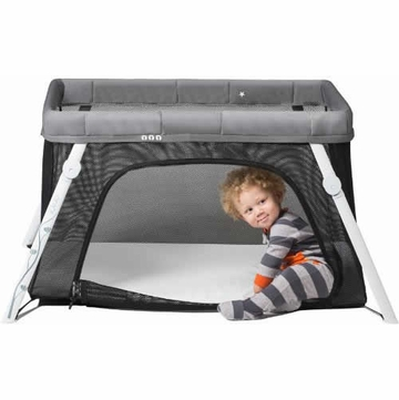 Guava Family Lotus Crib - Gray
