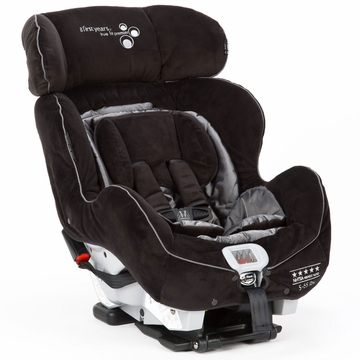 The First Years True Fit C670 Premier Convertible Car Seat - Sticks & Stones (Black & Grey)
