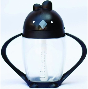 Lollacup Infant & Toddler Straw Cup - Black